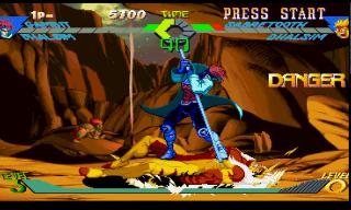 Screenshot Thumbnail / Media File 1 for X-Men vs. Street Fighter [U]
